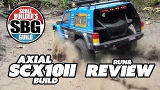 SBG Axial SCX10 II Run & Review