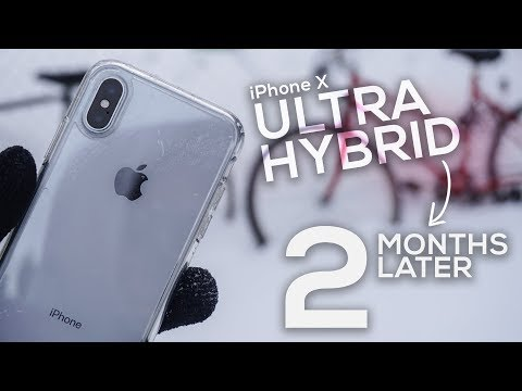 iPhone X Spigen Ultra Hybrid Case 2 Month Later