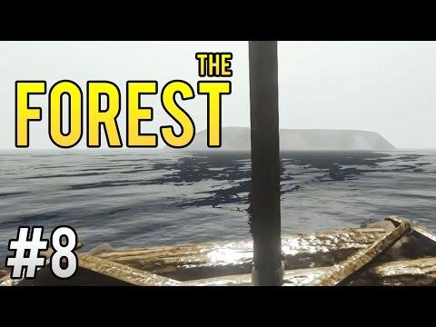 The Forest ITA Ep.8 - ZATTERA DA SURF!