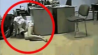 5 DZIWNYCH rzeczy nagranych przez kamery bezpieczeństwa!