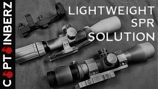 Lightweight SPR Scope/Mount Solution