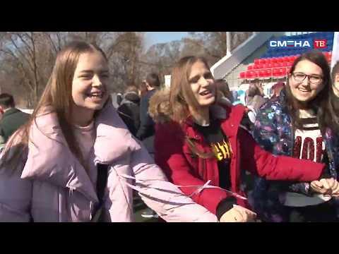 Фестиваль ГТО и фестиваль русских игр во Всероссийском детском центре «Смена»