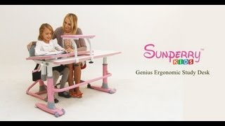 Genius Ergonomic Study Desk (english)