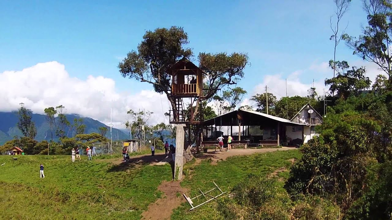 Casa del arbol ba os ecuador youtube for Casa del arbol cuenca