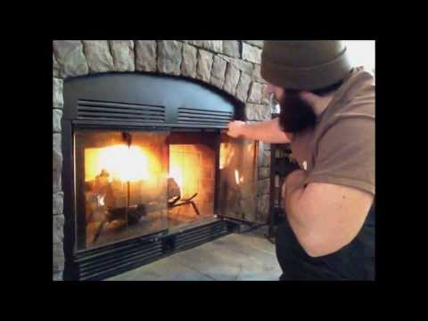 ★Fire, Make / Start / Build a fire in the fireplace.