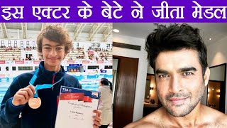 Bollywood Actor R.Madhavan's son wins bronze medal in Swimming for India | FilmiBeat
