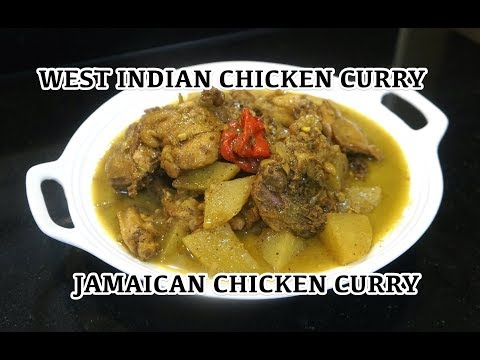 ⏰ Jamaican Chicken Curry - Chicken Curry - West Indian Chicken Curry - Curry Chicken