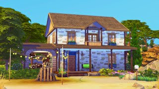 [WINDENBURG] Dock Den | Little Boxes Project | The Sims 4 Speed Build
