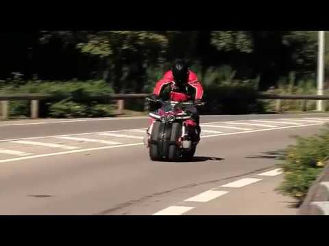 LM847 motosiklet test sürü?ü bak?n nas?l ak?llara durgunluk verdi!