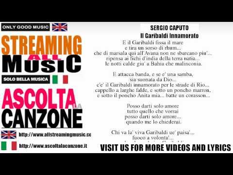Sergio Caputo - Il Garibaldi Innamorato (Lyrics / Testo)