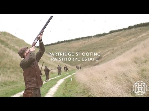 Partridge Shooting at Raisthorpe Estate with Jonathan M. McG