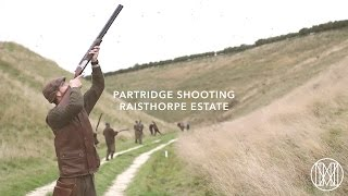 Partridge Shooting at Raisthorpe Estate with Jonathan M. McGee