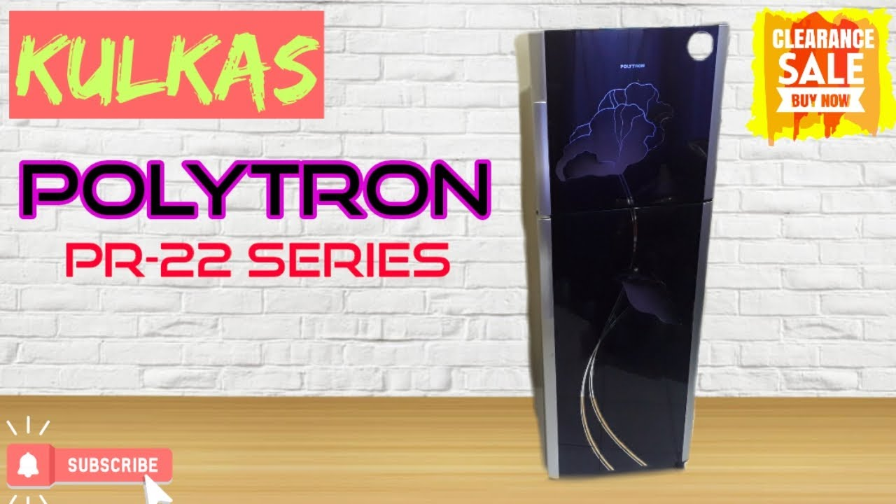 Kulkas Polytron 2 Pintu Pr-22 Series
