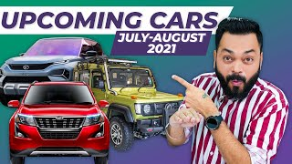 Top 8 Best Upcoming Cars In July & August 2021 ⚡ Tata HBX, Mahindra XUV700, VW Tiguan & More