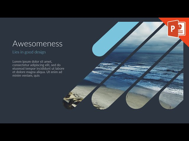 How To Design A Good Slide Point Tutorial You
