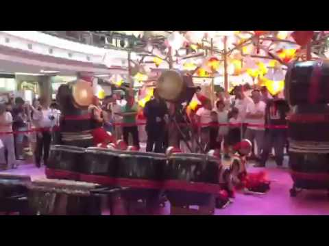 VR drumming academy 1 utama drumming performance |