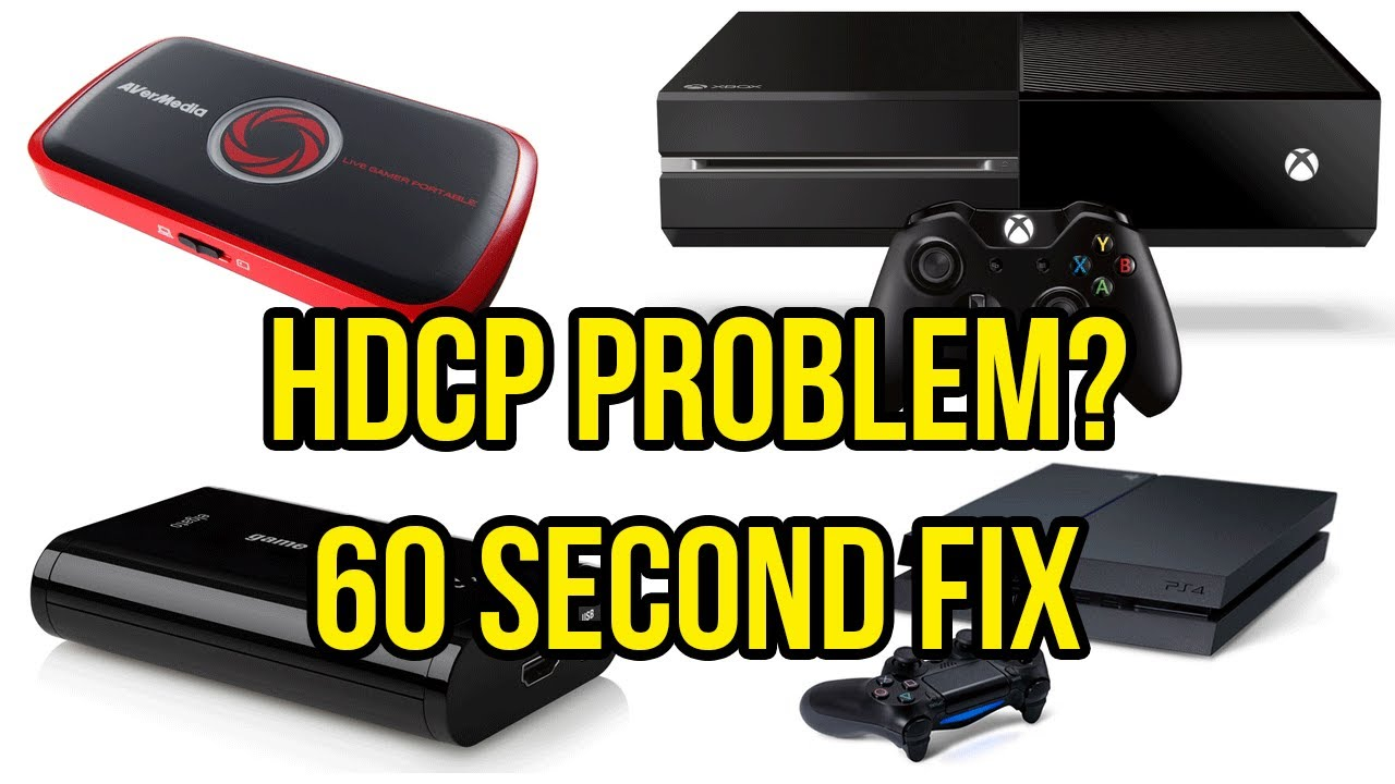 bypass hdcp xbox one
