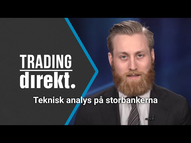 Trading Direkt 2021-04-06: Teknisk analys - vi jämför svenska storbankerna!