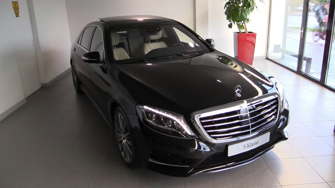 Mercedes S Class S500 L Plug In Hybrid 2017 Depth Review Interior Exterior You