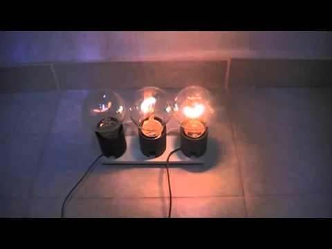 Загадка. Три разные лампы. Какая ярче светит?