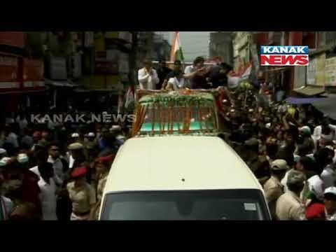 Priyanka Gandhi Holds Mega Roadshow At Silchar In Assam