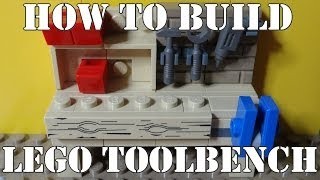 How To Build A Lego Tool Bench