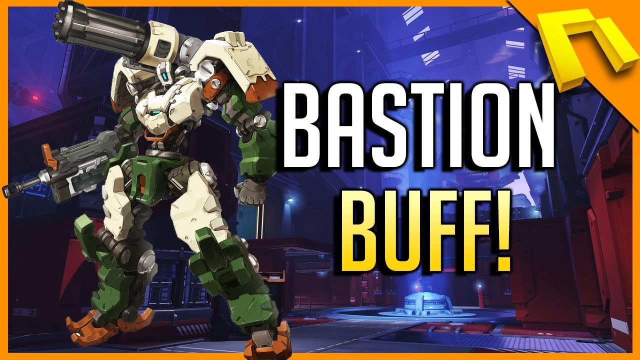 koop online top mode goede kwaliteit Overwatch - Bastion Buff DETAILS! Tank/Barrier BUSTER Mode?