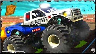 Stunt Monster 3D Game Walkthrough (All Levels)