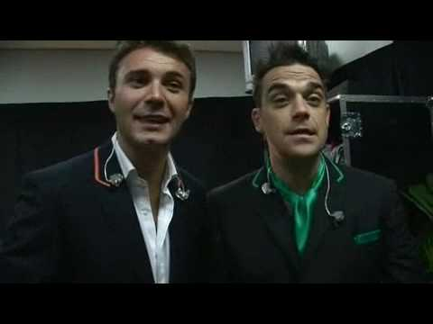 Robbie Williams  Backstage Berlin @Close Encounters Tour 2006