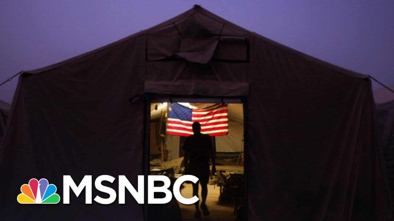 Trump Breaks Promise To Never Share Troop Deployment Plans | The 11th Hour | MSNBC