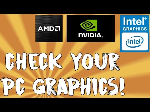 HOW TO CHECK GRAPHICS PROPERTIES OF YOUR PC! (Windows 8/8.1/10)