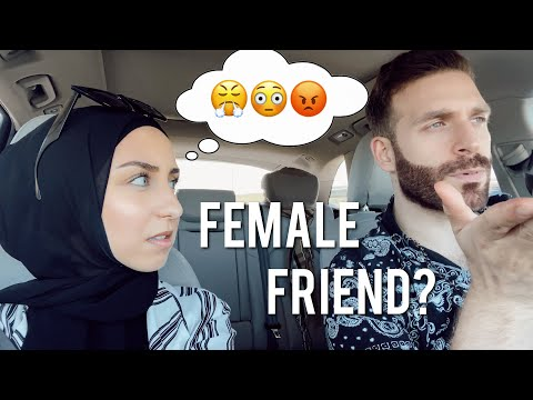 His female friend makes me extremely uncomfortable