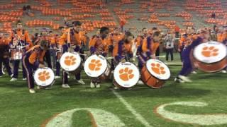 Clemson University Drumline (CUD) Postgame Boston College 2015