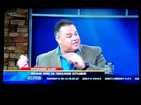 Mike Litton On CBS 8 News At 6 AM With Dan Cohen  2.13.2012
