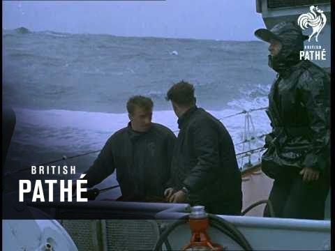 Fishing Fleet En Route To Iceland (1963)