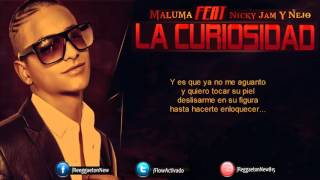 La Curiosidad (Official Remix) - Maluma Ft. Nicky Jam & Ñejo