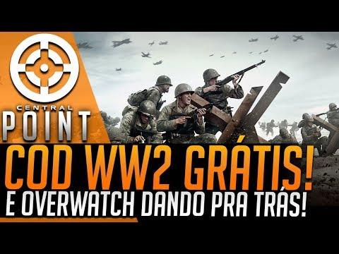 COD WW2 DE GRAÇA E OVERWATCH FALHANDO COM O BRASIL! - CENTRAL POINT