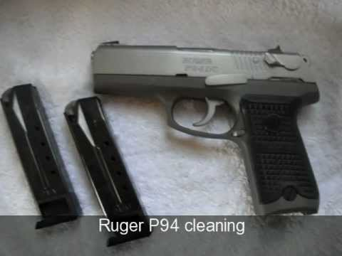 Ruger P94 Cleaning