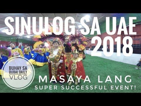 SINULOG SA UAE 2018 - Pinaka makulay at masayang event sa Dubai