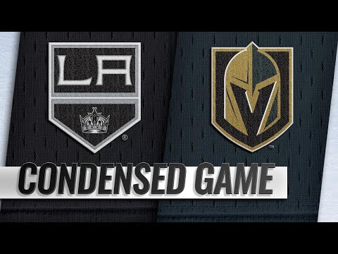 01/01/19 Condensed Game: Kings @ Golden Knights