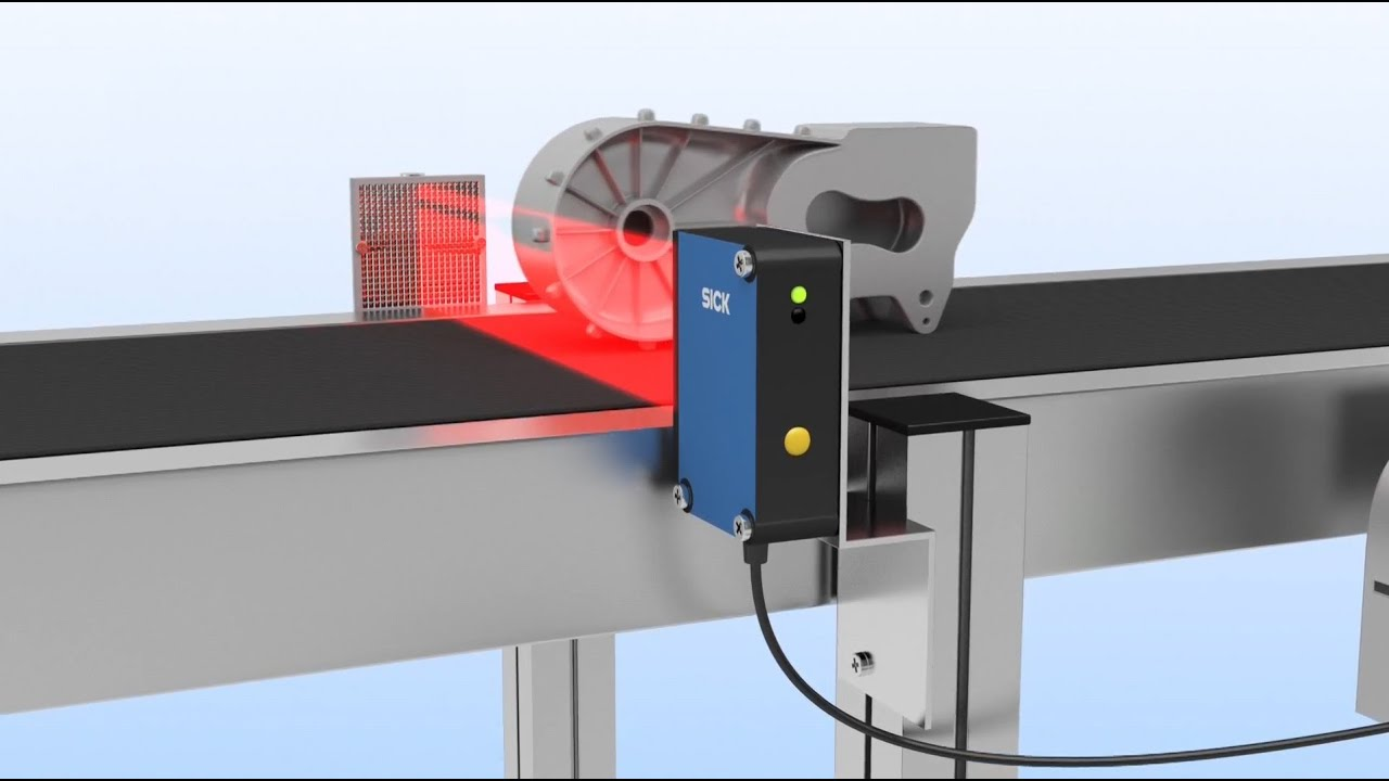 Reflex Array von SICK: Die Lichtschranke mit dem Lichtband ...