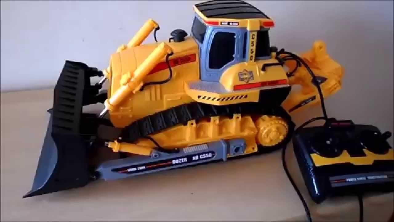 Caterpillar Bulldozer Remote Control : New bright toy caterpillar bulldozer work zone remote