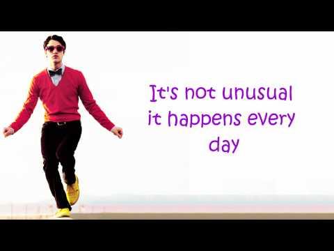 Glee- It's Not Unusual (Lyrics) Season 3