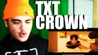 TXT - CROWN MV Reaction