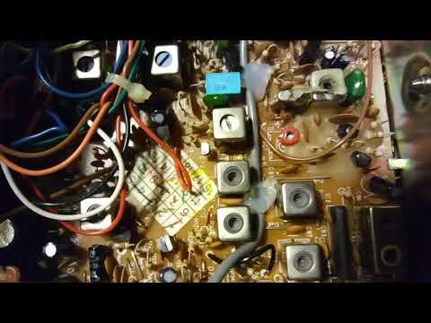 COBRA CITIZENS BAND RADIO-SOUND TRACKER-MODEL 25 WX SF