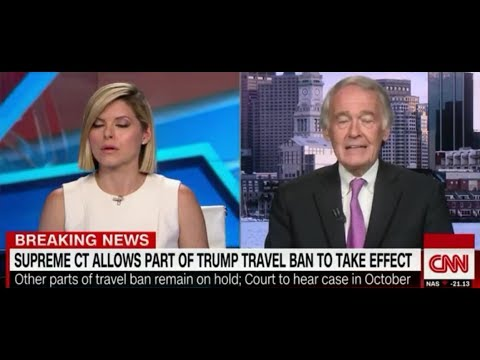 Democrat Sen. Ed Markey LIES About Travel Ban: