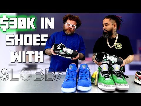 $30k worth of shoes at Urban Necessities (Slobby Robby pulled up + spending a million on shoes!)
