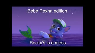 Rocky is a mess(Bebe rexha)for ROCKETOLAF 3000