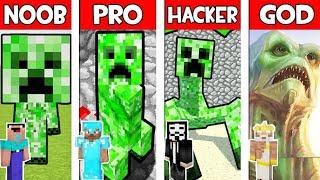 Minecraft - NOOB vs PRO vs HACKER vs GOD : CREEPER MUTANT in Minecraft ! AVM SHORTS Animation