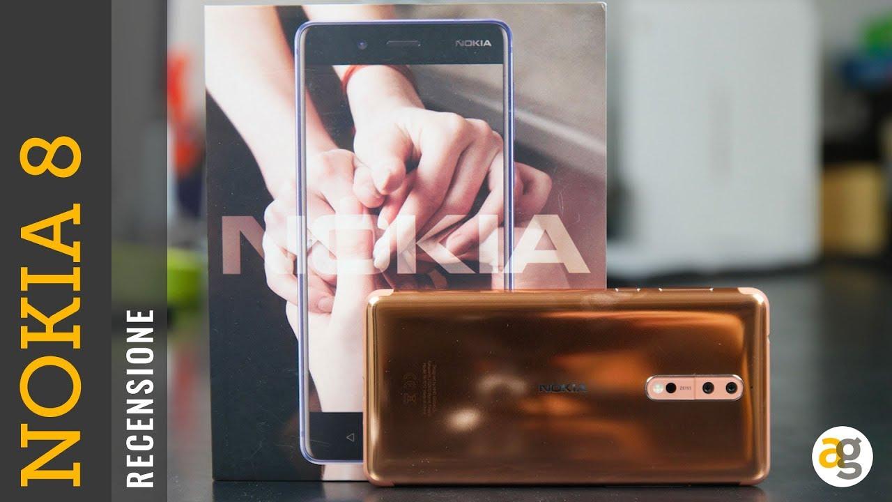 Recensione Nokia 8 Youtube